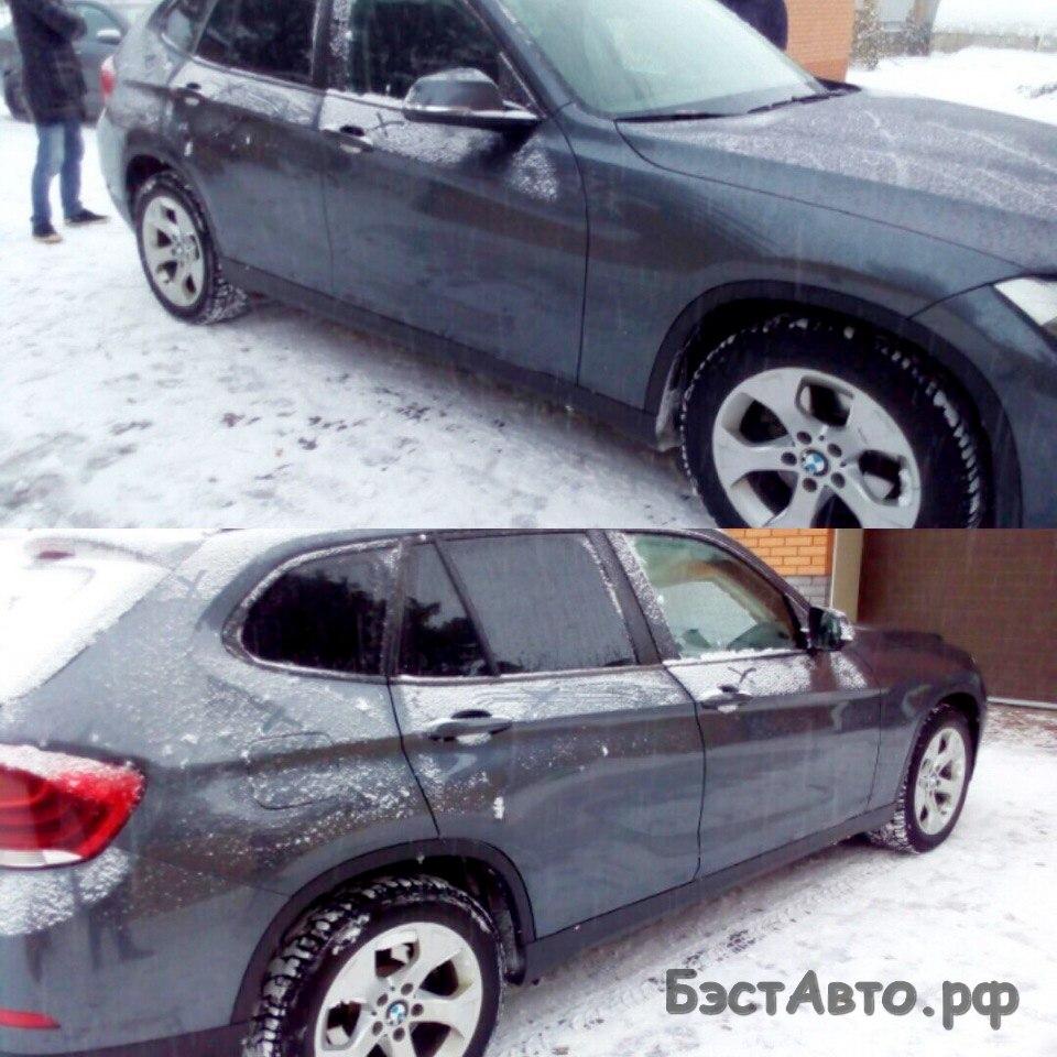 Выездная диагностика BMW X1 2.0 АТ 2013.г.в.