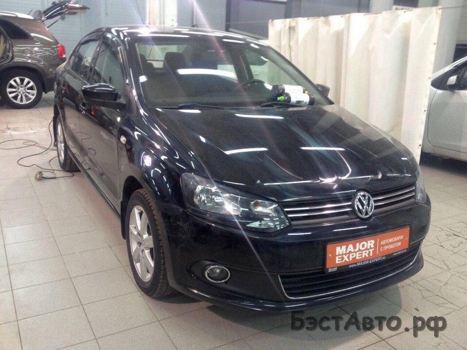 VW Polo 2011 год