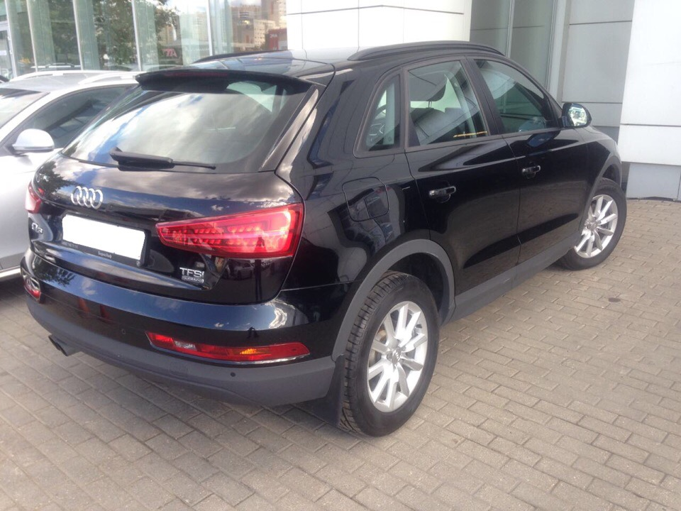 Audi Q3 для Виктора и Анны