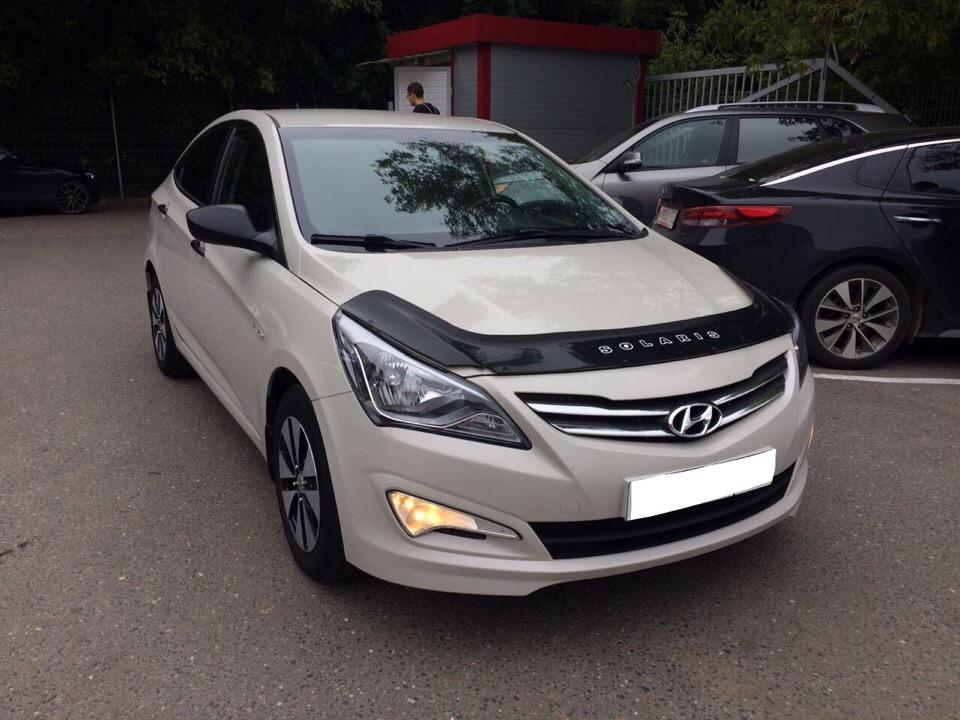 Hyundai Solaris для Игоря и Дарьи