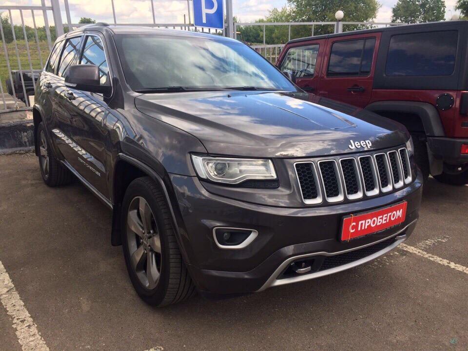 Jeep Grand Cherokee Overland для Сергея и Инны