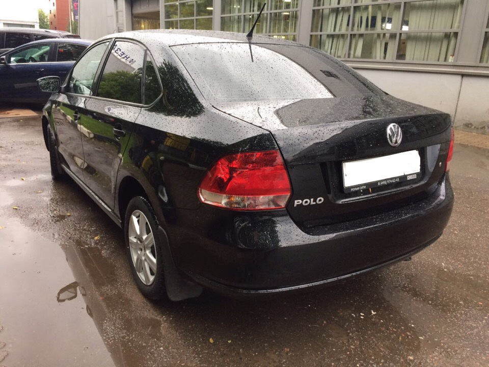 Volkswagen Polo для Дарьи и Артура
