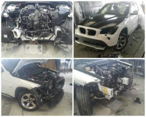 Восстановление BMW X1