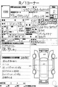 Toyota Crown оценка на аукционе