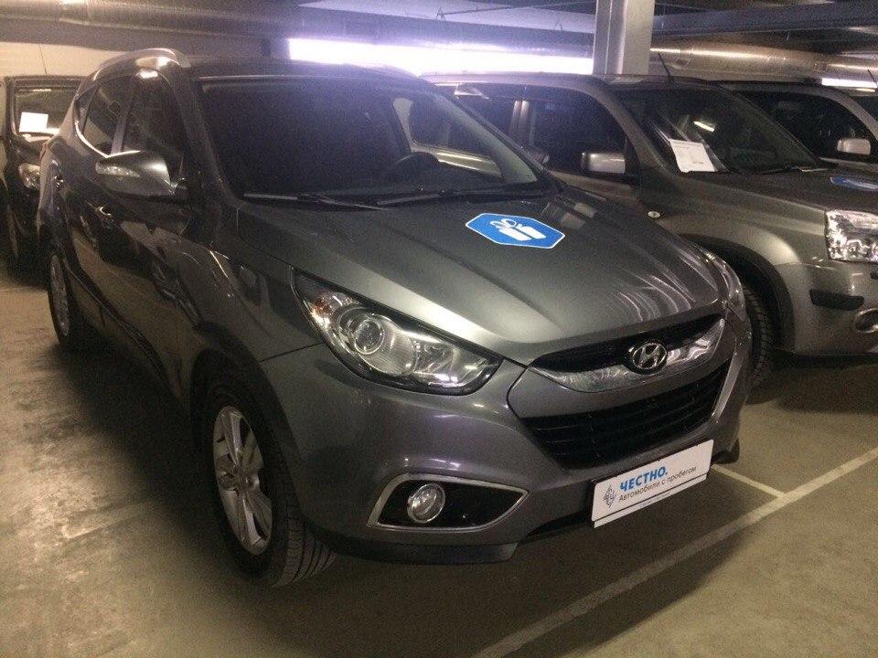 Подбор автомобиля под ключ Hyundai ix35