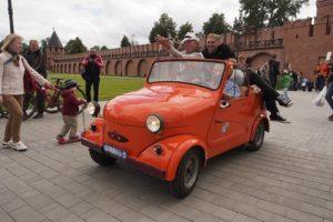 Автомобильный фестиваль в Туле