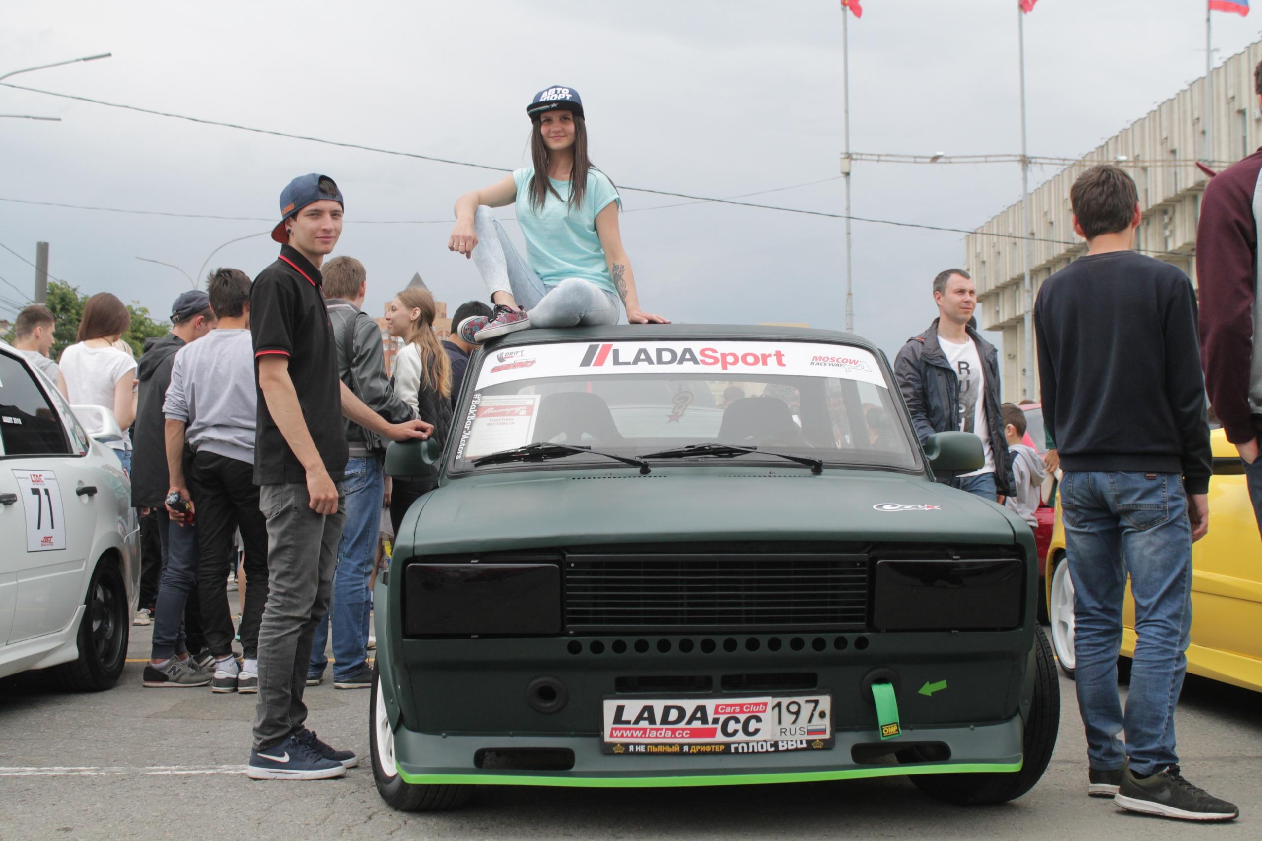 В День России в Туле прошёл ралли «Автострада»