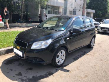 Chevrolet Aveo для Валерии