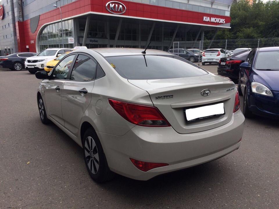 Подбор автомобиля под ключ Hyundai Solaris для Игоря и Дарьи