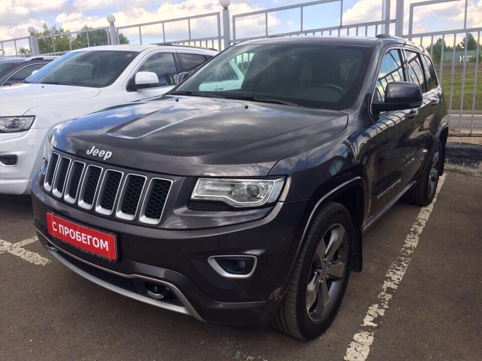 Подбор автомобиля под ключ Jeep Grand Cherokee Overland для Сергея и Инны