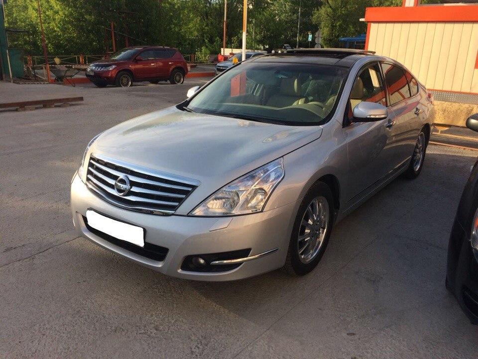 Подбор автомобиля под ключ Nissan Teana для Дмитрия
