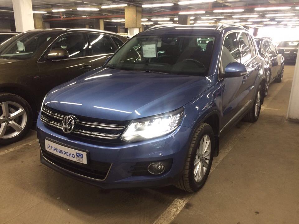 Подбор автомобиля под ключ Volkswagen Tiguan для Севастьяна