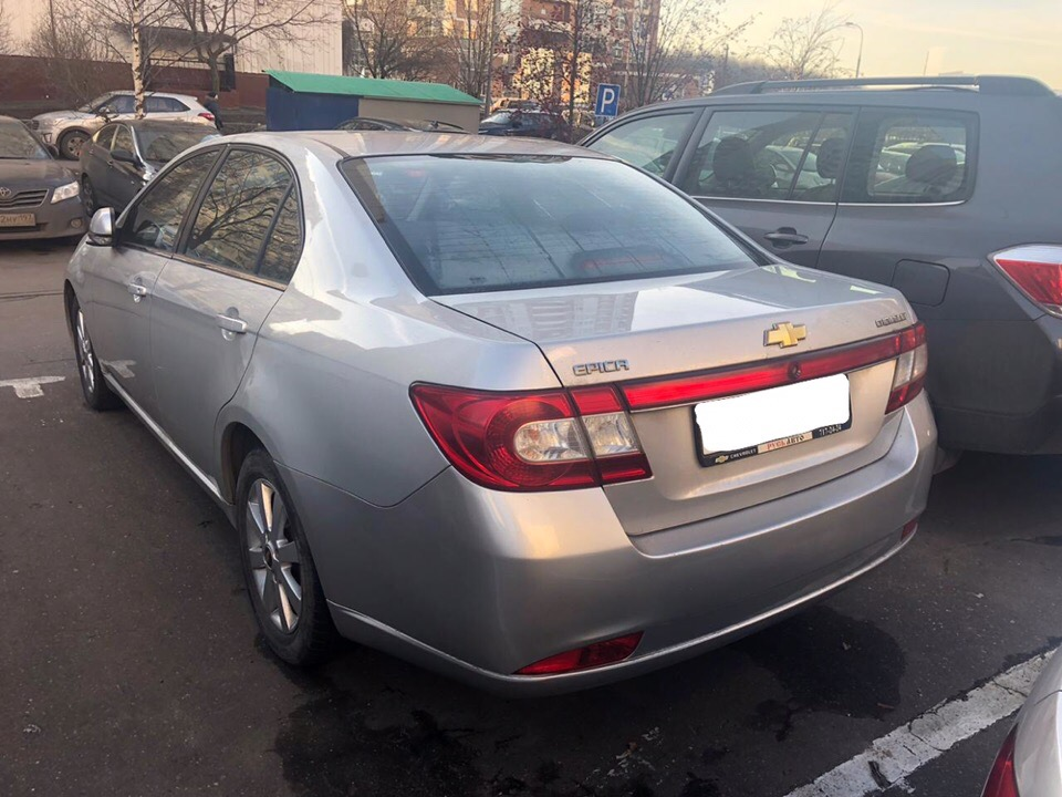 Chevrolet Epica под ключ для Сергея