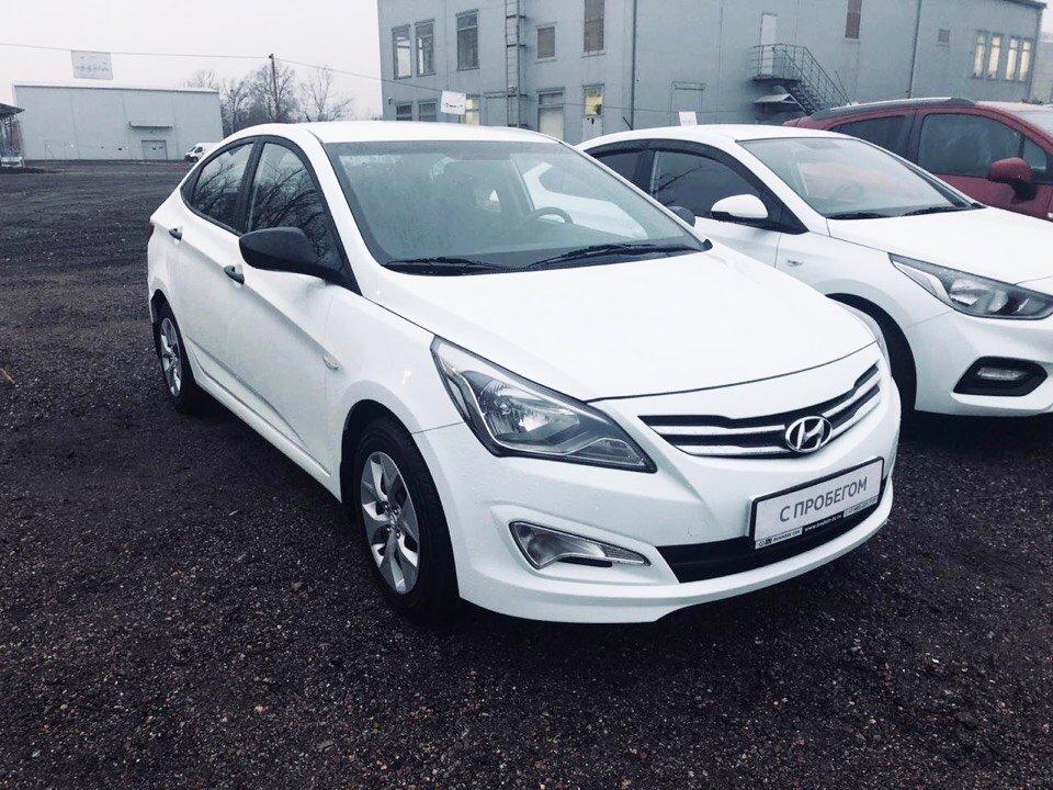 Подбор автомобиля Hyundai Solaris под ключ для Ильи