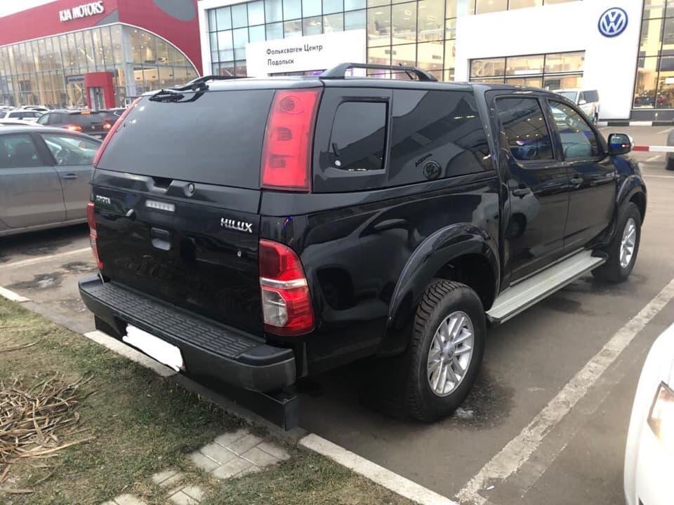 Toyota Hilux под ключ для Дениса
