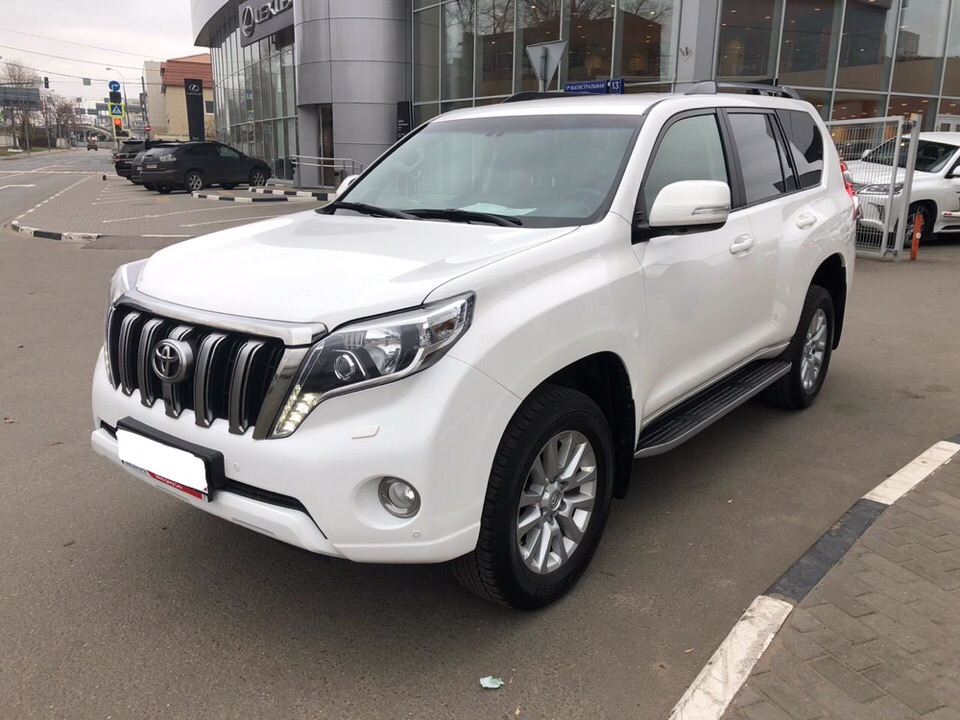 Toyota Land Cruiser Prado под ключ для Ивана