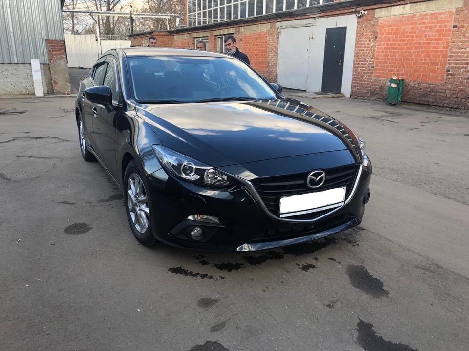 Подбор автомобиля под ключ Mazda3 для Оксаны и Антона.