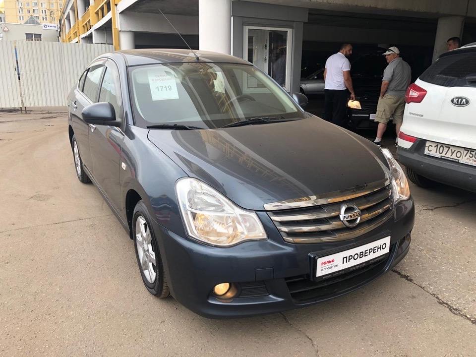 Nissan Almera для Виктора.