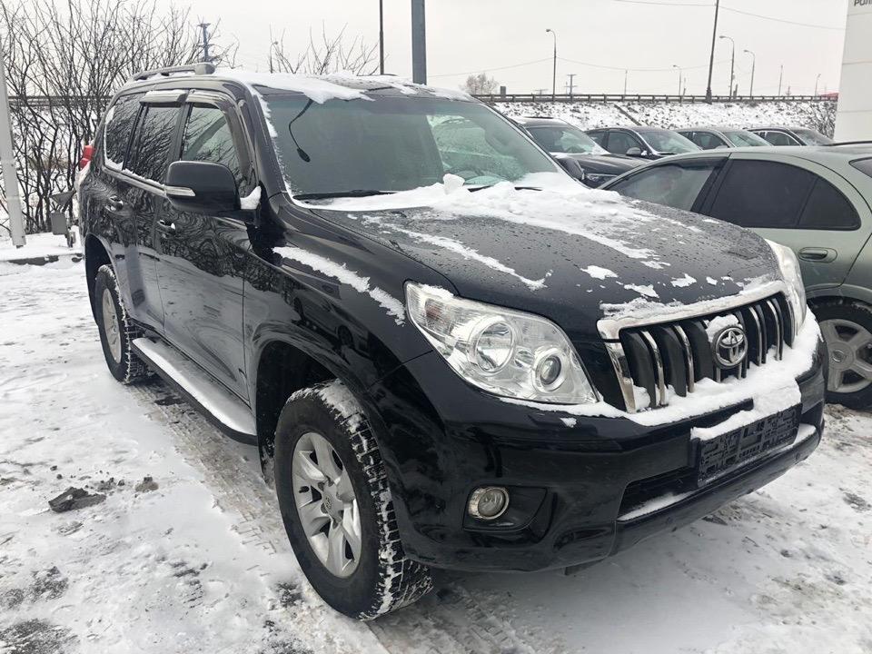 Подбор автомобиля под ключ Toyota Land Cruiser Prado 150 для Анатолия.