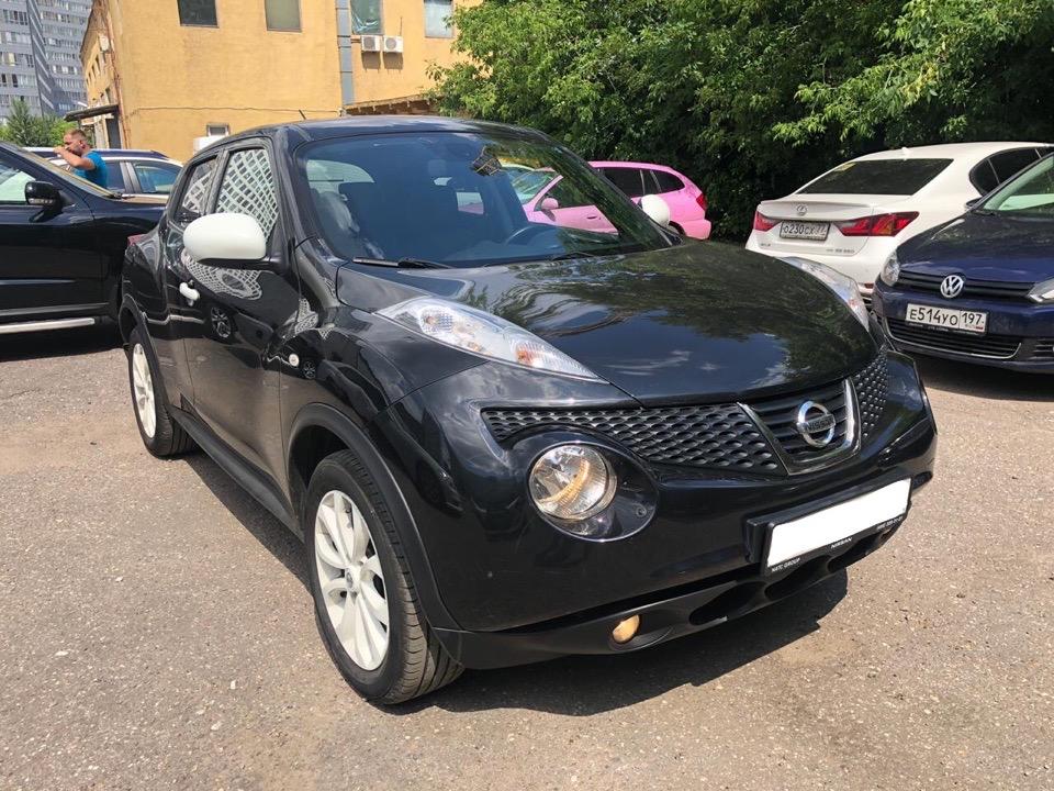Подбор автомобиля под ключ Nissan Juke для Виктории и Игоря.