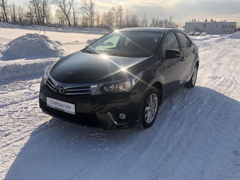 Подбор  Toyota Corolla.